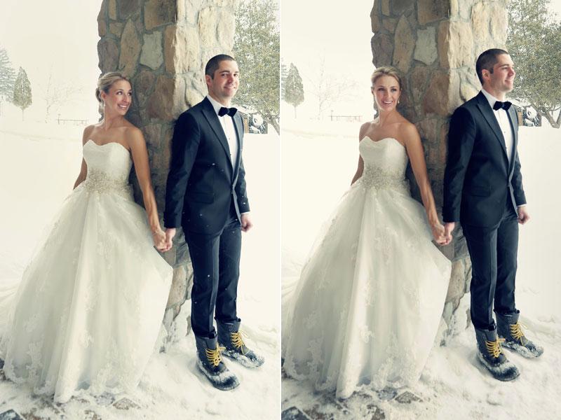 first look les mariés se voient pour la première fois