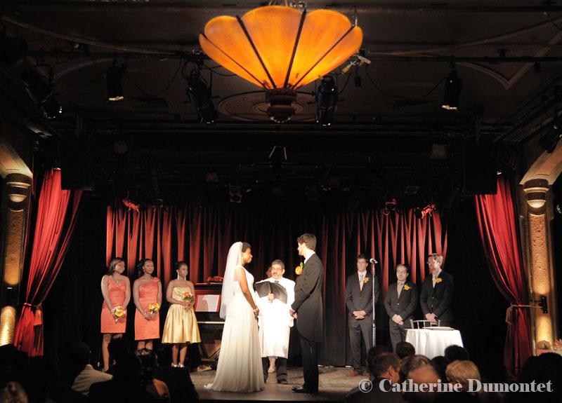 cérémonie au Cabaret Lion D'Or