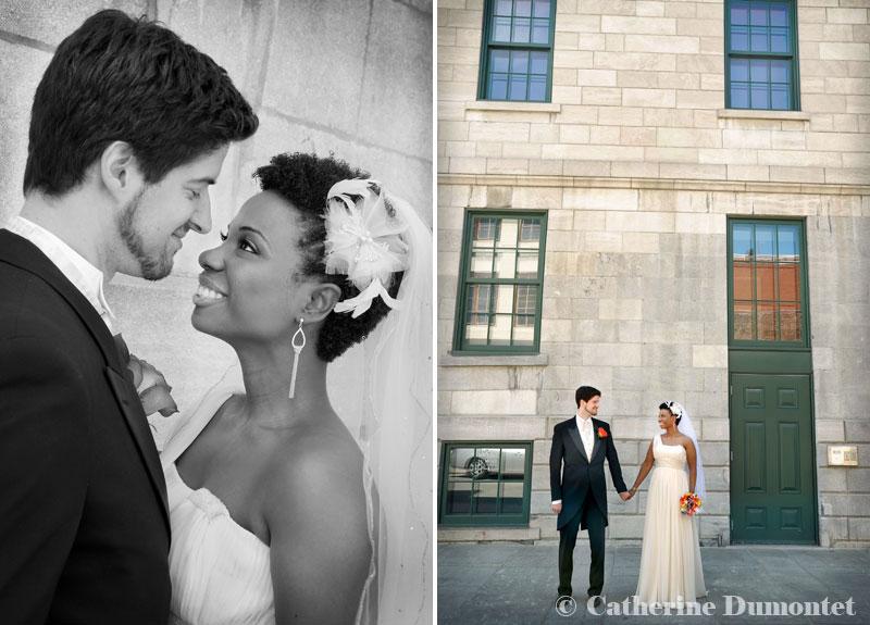 les futurs mariés dans le Vieux-Port