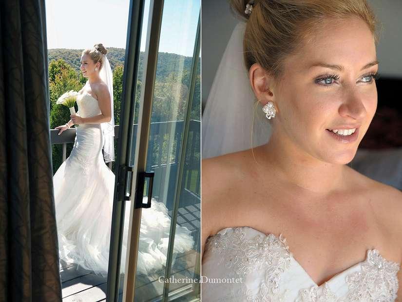 Portraits de la mariée au Royal Laurentien