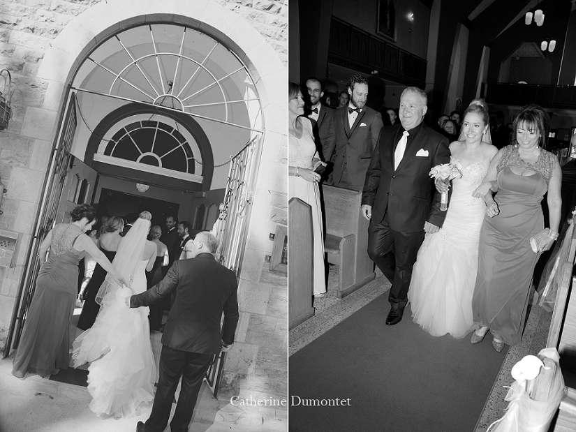 mariage à l'Église St-Jovite