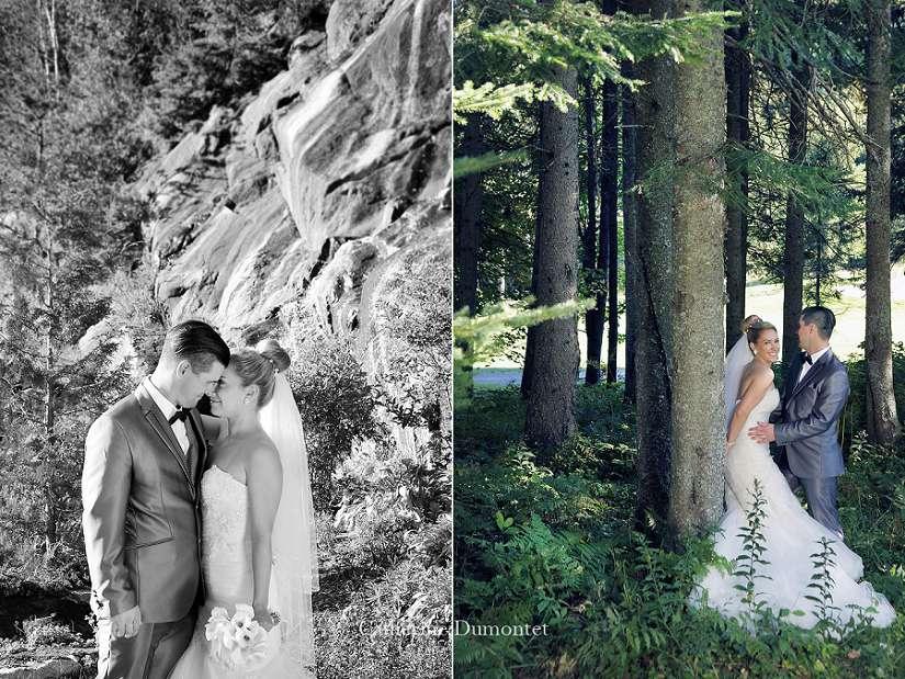 mariage à Mont-Tremblant