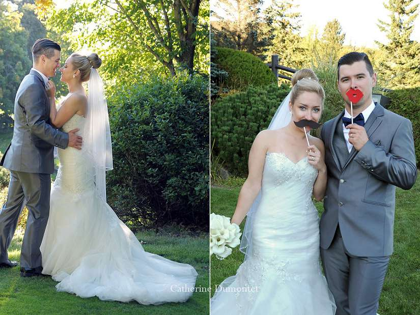 couple de nouveaux-mariés