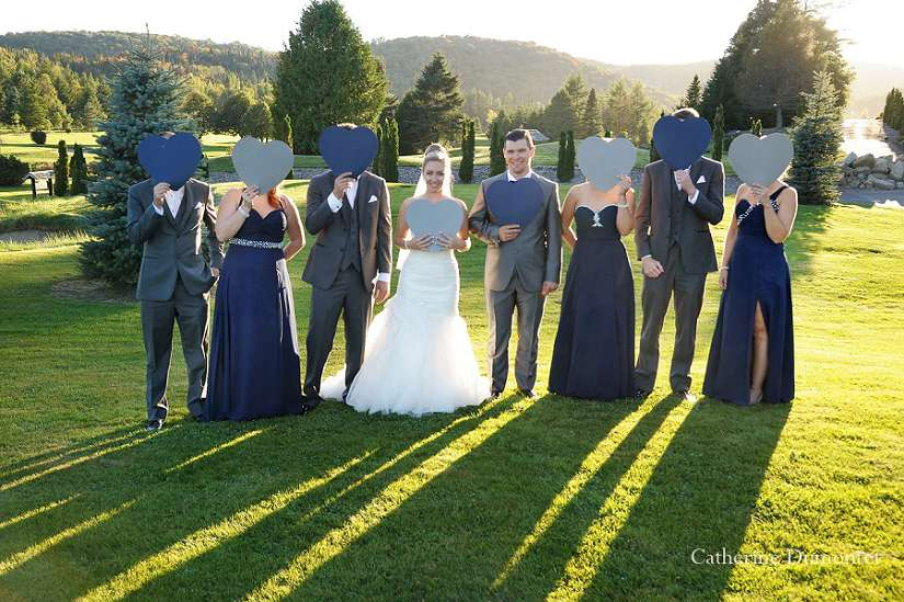 photo de mariage au Golf Royal Laurentien