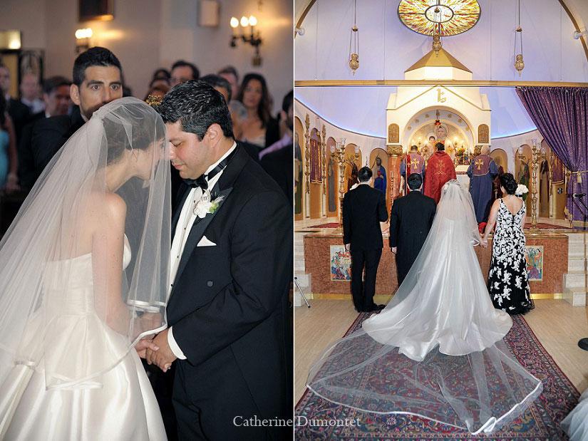 cérémonie de mariage à l'église