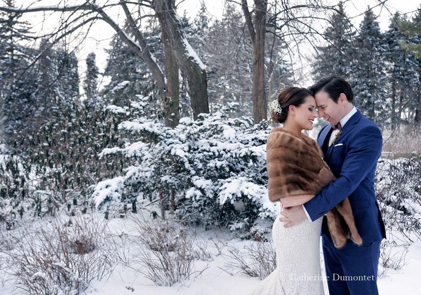 mariage en hiver à la Toundra