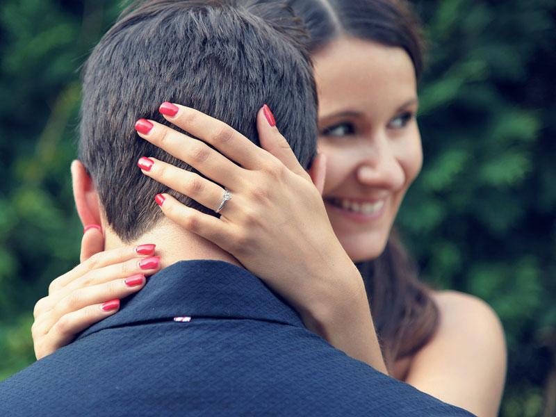 Photos de fiançailles