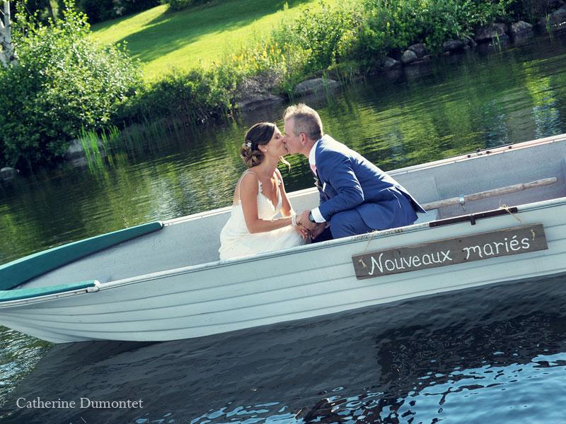 mariage à l'auberge du lac-à-l'eau-Claire