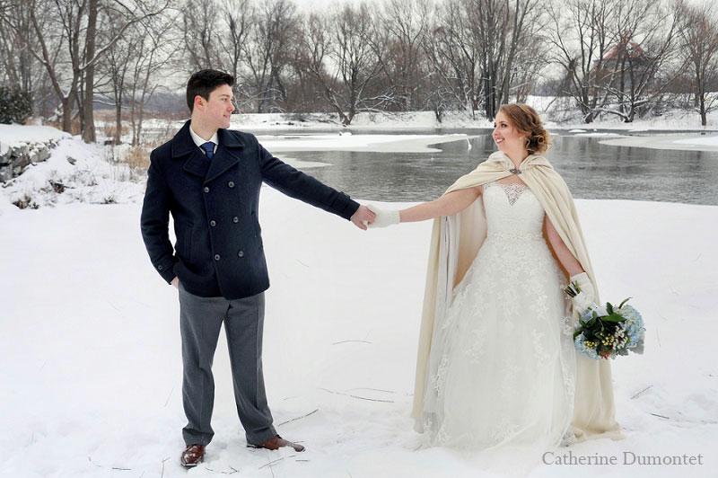 Winter wedding at Moulin Callieres di Jasmin