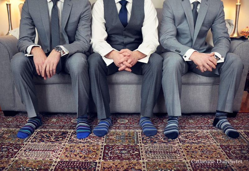 groom and groomsmen's socks