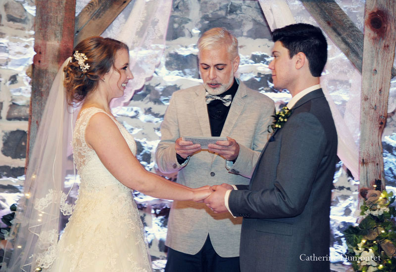 Ceremony and exchange of vows