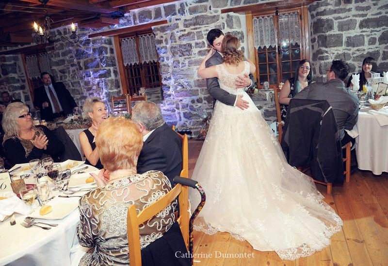 evening wedding reception