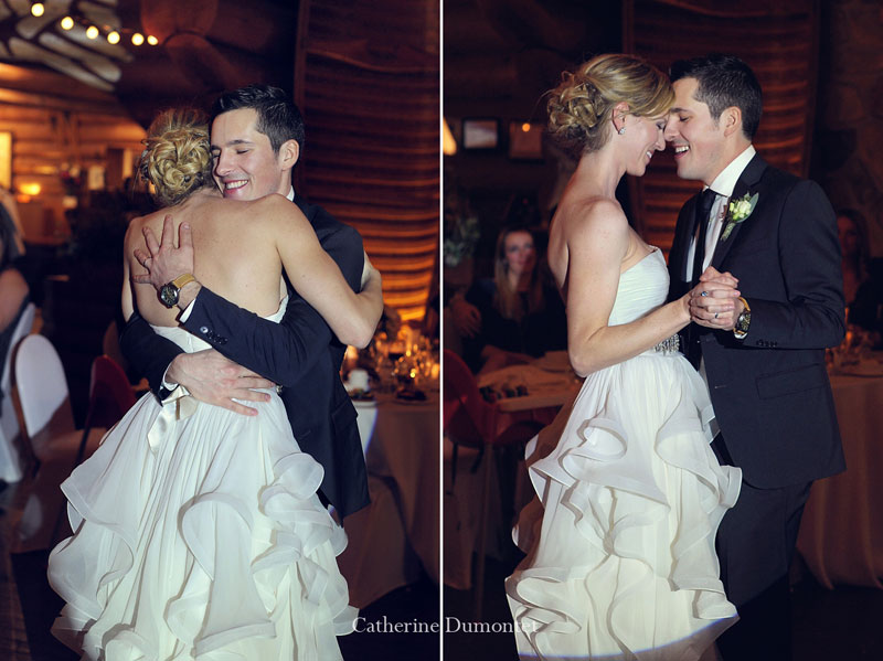 fist dance of the newlyweds