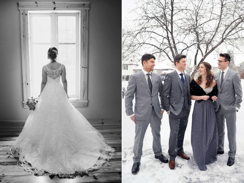 photos de préparation mariage