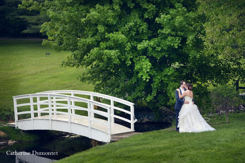Les mariés à La Distinction de Joliette