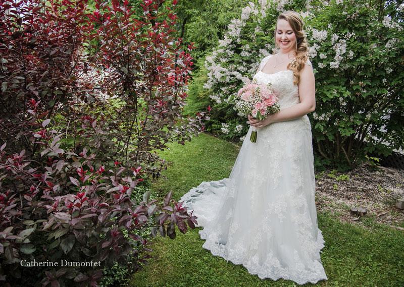 Portrait de la mariée au Pleasant Hotel