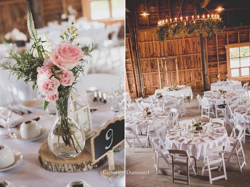 mariage dans la Grange au Vignoble de la Bauge