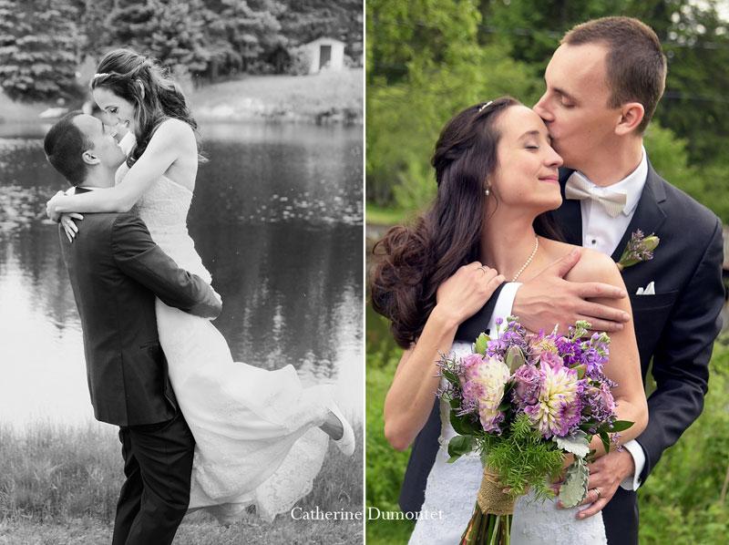 mariage à Val-David dans les Laurentides