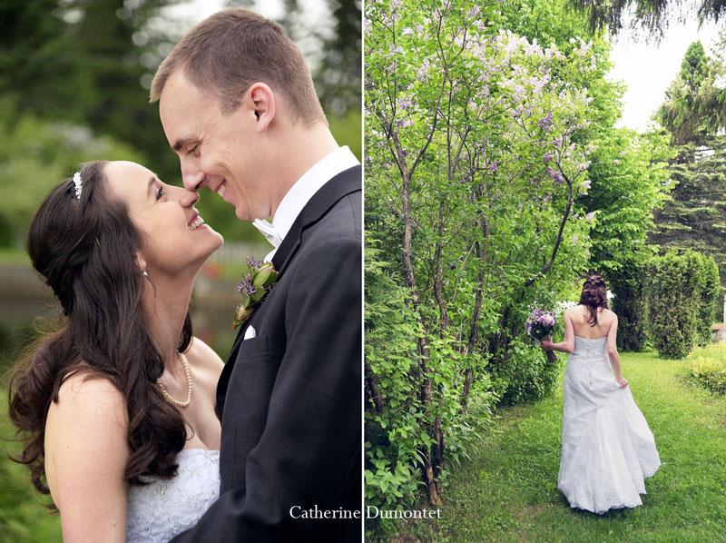 mariage dans les Laurentides