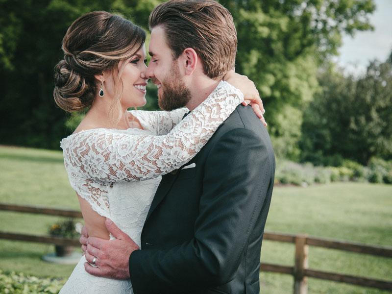 mariés à l'Auberge des Gallant