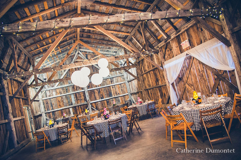 salle de réception mariage au Jude-Pomme
