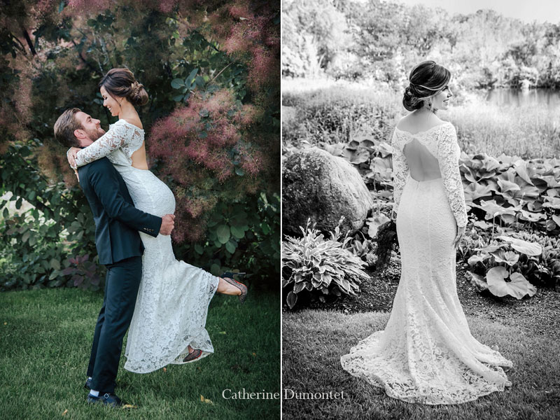 mariage à l'Auberge des Gallant