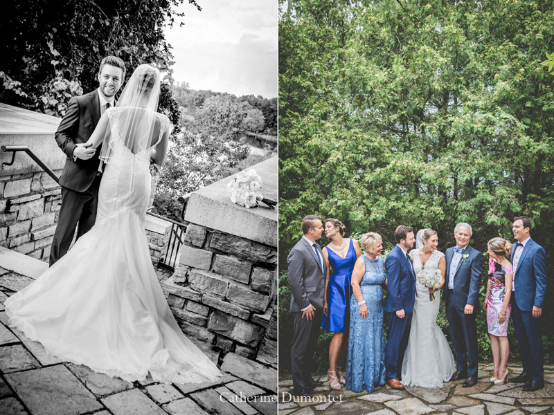 Mariés et famille au Hilton Lac-Leamy