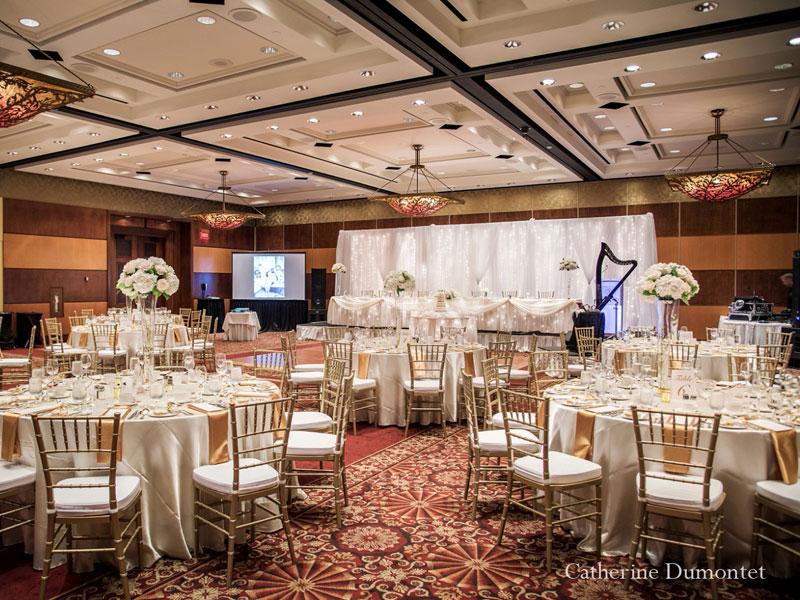 Salle de réception du Hilton Lac-Leamy