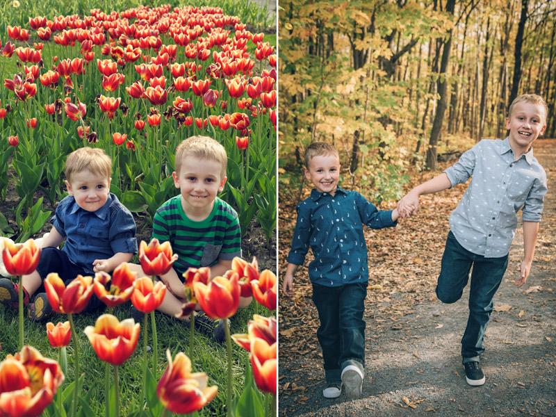 Photos de deux frères