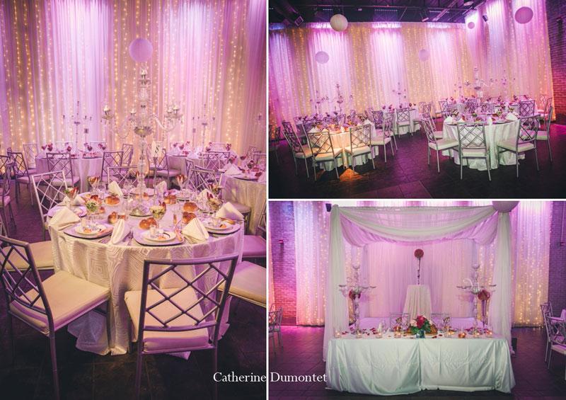 réception mariage au Living Room de Montréal