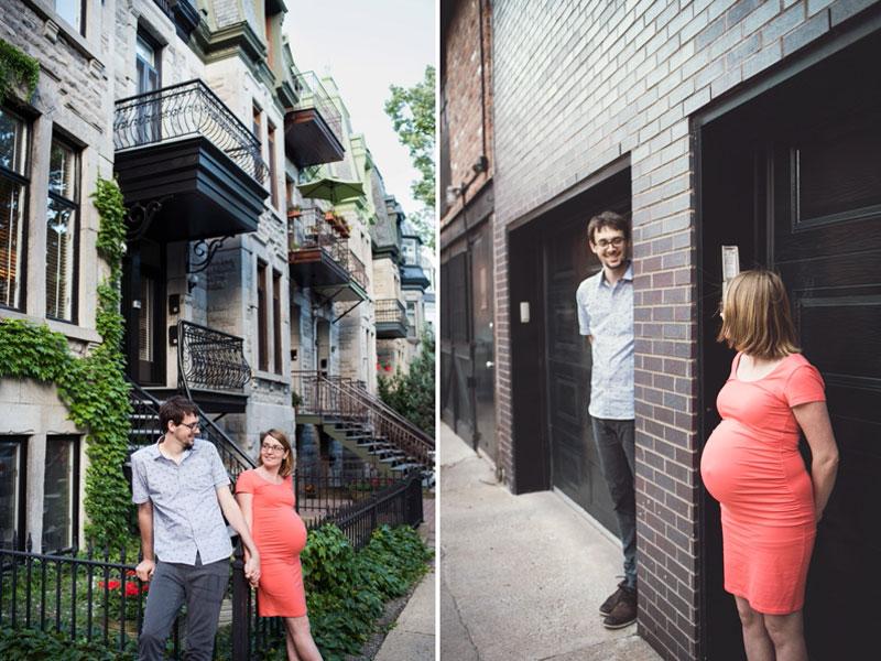 Photographies de maternité à Montréal