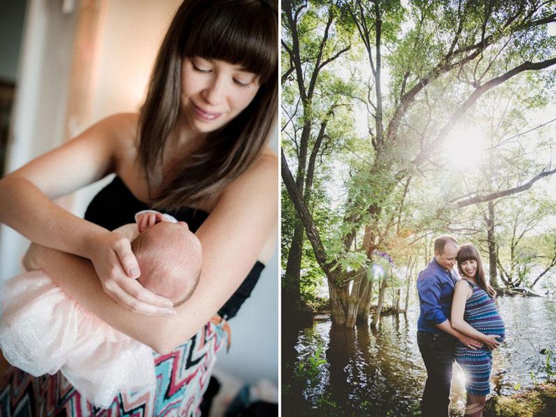 Photographies de maternité et bébé