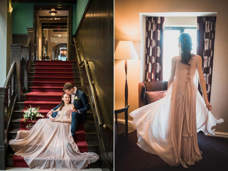 Mariés à l'Hôtel Intercontinental de Montréal