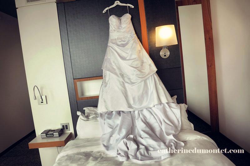 robe suspendue à l'Hôtel Alt Dix30