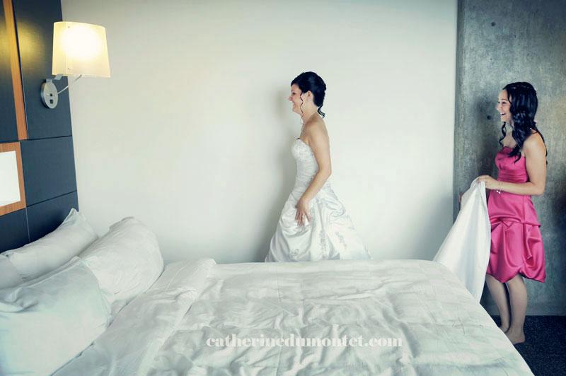 préparation mariage à l'Hôtel Alt Dix30