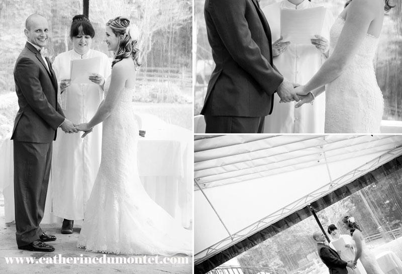 cérémonie de mariage au Manoir Rouville-Campbell