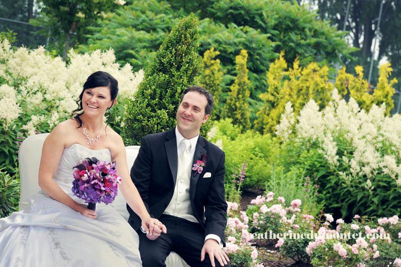 cérémonie de mariage à l'Espace Rive-Sud
