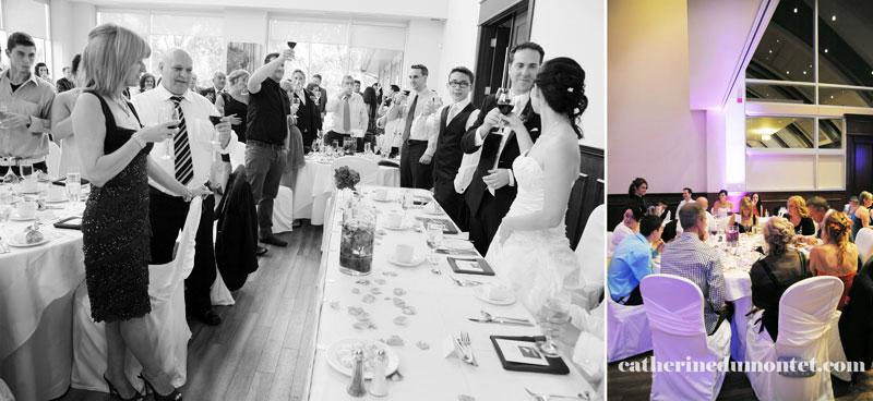 réception de mariage à l'Espace Rive-Sud