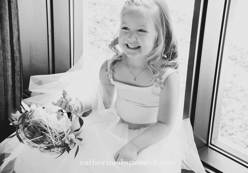 la bouquetière et l'enfant des mariés