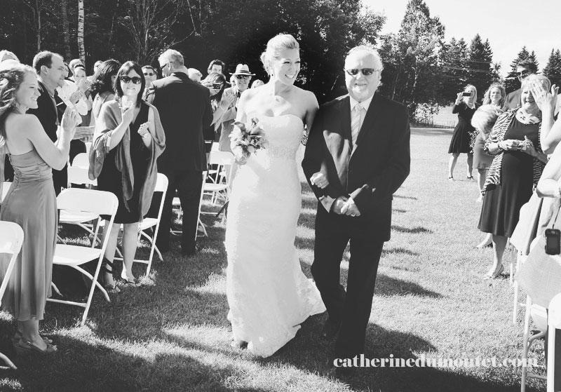 cérémonie extérieure de mariage à l'Estérel Resort