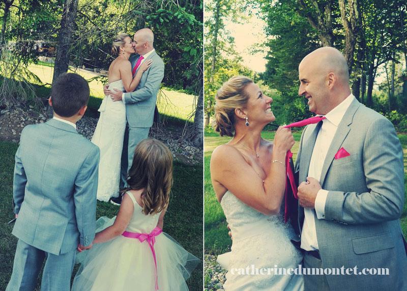 mariage à l'Estérel Resort dans les Laurentides