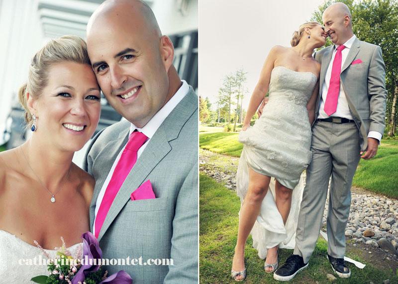 mariage à l'Esterel Resort dans les Laurentides