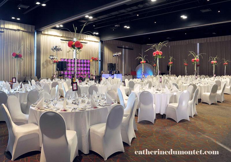 salle de réception à l'Esterel Resort