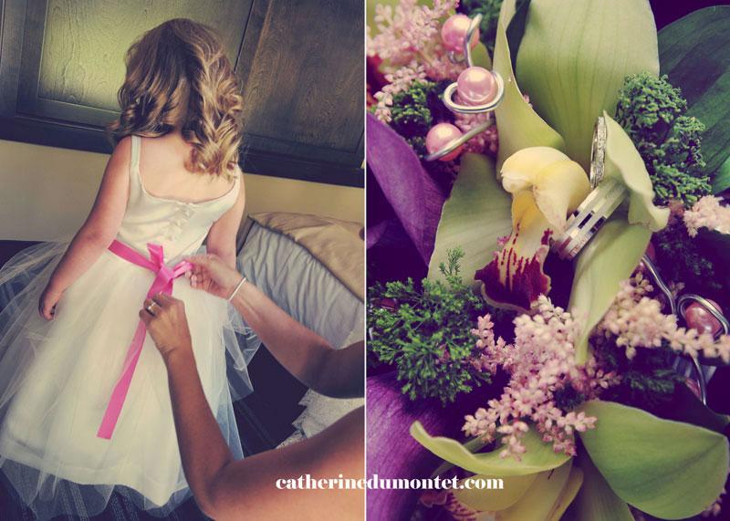 préparatifs de mariage dans les Laurentides