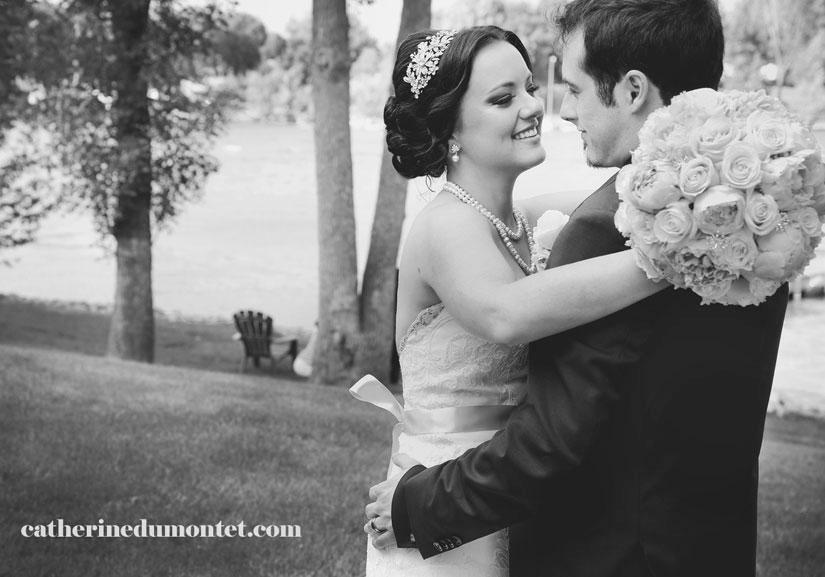 mariage à l'Hôtel Rive Gauche de Beloeil