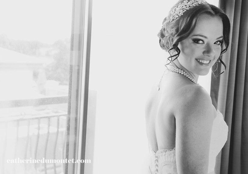 la mariée au Rive Gauche de Beloeil