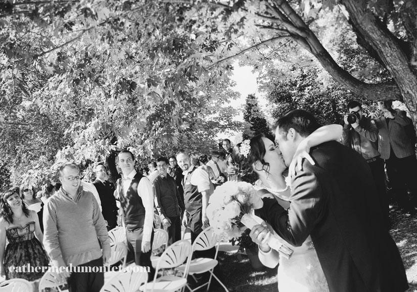cérémonie de mariage à l'Hôtel Rive Gauche