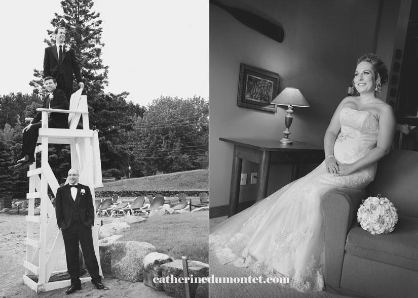 mariage au Grand Lodge Mont-Tremblant