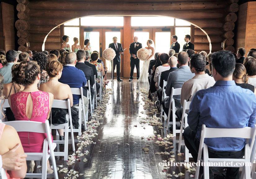 cérémonie de mariage au Grand Lodge