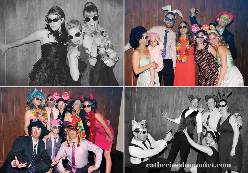 photobooth lors de la réception de mariage